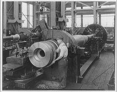 DC Navy Yard machining ship Gun barrel