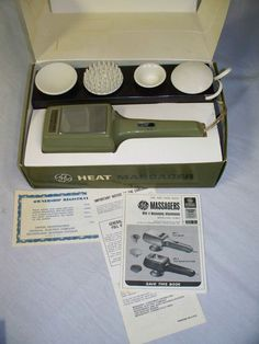 VINTAGE GENERAL ELECTRIC HAND HELD HEAT MASSAGER MR-2/5402-007 FOUR ATTACHMENTS eBay $0.98 ONLY A FEW LEFT