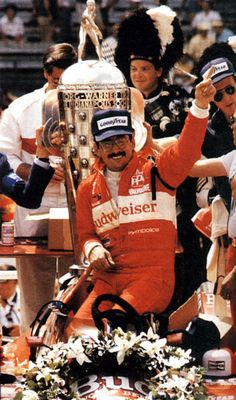 1986 - it rains and rains and rains some more. We have to come back the next SATURDAY for the race. Bobby Rahal wins.