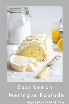 Lemon Meringue Roulade is a real crowd pleaser and show stopper of a homemade dessert. It is make ahead and absolutely delicious. Light, crispy, fluffy, filled and with lemon cream. Meringue desserts are some of my favourites and with very good reason. #applytofaceblog #lemonmeringueroulade #easydesserts #lemondesserts #makeaheaddesserts #summerdesserts #comfortfood Make Ahead Desserts, Homemade Desserts, Summer Desserts, Easy Desserts, Summer Recipes, Lemon Meringue Roulade, Raspberry Roulade, Meringue Desserts, Pudding Desserts