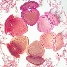 Have a heart! #regram @allyfantaisies #toofaced Love Flush Long-Lasting Blush by Too Faced