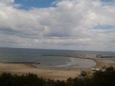 Plaja Modern  spre finalizarea vederii Portul Turistic Tomis