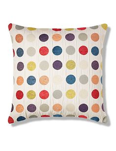 Multi Spotted Cushion | M&S