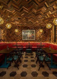 2016 Restaurant & Bar Design Awards Announced,Nando's (Old Street, London, UK) / moreno:masey architects+interiors. Image Courtesy of The Restaurant & Bar Design Awards