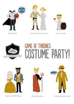 Game of Thrones costume party