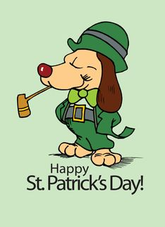 Happy St. Patrick's Day Lucky Dog