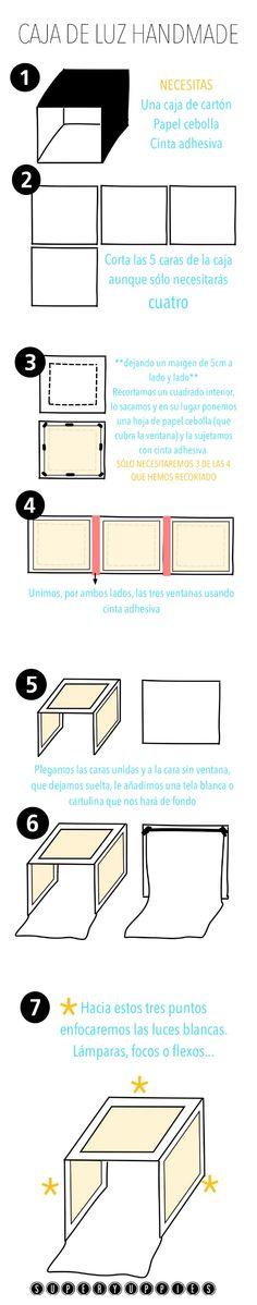 Crear una caja de luz casera