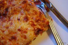 Köttfärslasagne med keso-nadjaskitchen.se-viktväktarna-propoints-pasta-lasagne Macaroni And Cheese, Pizza, Ethnic Recipes, Food, Lasagna, Mac And Cheese, Essen, Meals, Yemek
