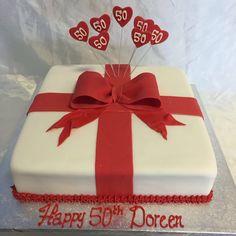 Present cake for someone special #mad4cakes #freshlybaked #eastcote #custommadecakes #bespokecakes #tasteshomemade #presentcake