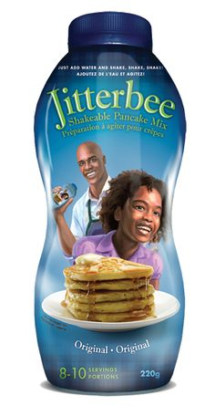 Jitterbee Shakeable Pancake Mix- VIP bag item! You can serve your whole family a hot, healthy breakfast in less than 5 minutes. Open a jar of Jitterbee, add milk or water, shake for 45 seconds and you're ready to cook. Jitterbee pancakes are preservative free, contain only high quality ingredients and taste amazing! Value $3.99