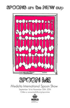 SPOONS are the NEW cup! Spoon Me poster Us Cup, Call For Entry, Ceramic Spoons, All Things New, What Inspires You, Exhibitions, Ceramics, Poster, Crafts