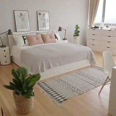 Summer bedroom - gratiocafe blog