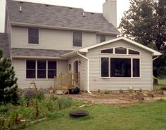 Family Room Addition Roof Goes Opposite Direction