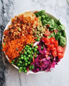 frommybowl: this rainbow taco salad is fashionably late