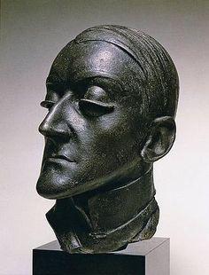 Pablo Gargallo (Spain, 1881 - 1934).   Portrait d'Angel Fernández Soto, 1920, bronze