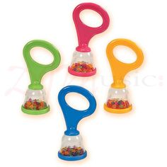 Halilit Early Years Baby Maracas - Perfect for tiny hands with a gentle soft sound specifically designed for younger children and babies.