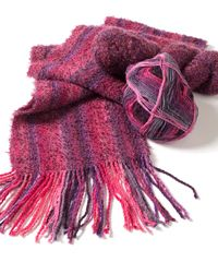Serendipity Scarf by Joan Sheridan - one of 6 handwoven scarf patterns