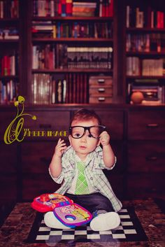 "phoenix 8 months| replica of clovers ""book worm"" 8 month shoot :)"