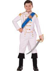 Kids Happily Ever Prince Charming Costume