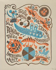 Circus by Chamo by Wilkintie on Etsy