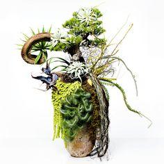 Ikebana by Makoto Azuma, Japan