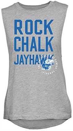 NCAA Kansas Jayhawks Women's Sleeveless Drop Tail Tank T-... https://www.amazon.com/dp/B01M9G17O7/ref=cm_sw_r_pi_dp_x_j-kQyb8GKG7EC