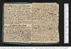 Page from one of the miniature books made by Charlotte Brontë when she was 14.