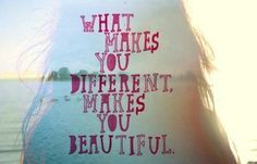 Would be a great quote to paint on the wall of a girl's room. So true and affirming.