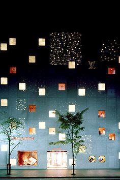 Louis Vuitton Ginza Namiki, Tokyo by Jun Aoki, 2004