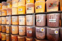 Popcorn Haven Gourmet Popcorn Popcorn Store, Popcorn Tins, Popcorn Seasoning, Hot Sausage, Gourmet Popcorn, Candy Shop, Milkshake, Food Truck, Holiday Gifts