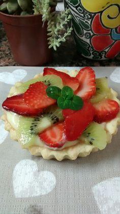 Tarta de frutas mini