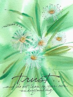 Trust Greeting Card, with message