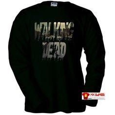 Camiseta Walking Dead #camiseta #realidadaumentada #ideas #regalo