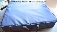 DIY Outdoor Cushions - Solution Dyed Awning Canvas & Polyester Thread,Tutorial for a DIY Outdoor Cushions for your patio or deck furniture. Our materials are perfect for outdoor home decor applications. Watch and read now! ,https://www.canvasetc.com/product/diy-outdoor-cushions-tutorial/ ,  #ballisticnylon #diyipadcase #freetutorials #tabletcover