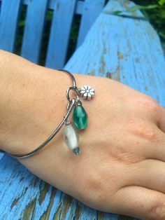 Alex and Ani inspired Bangle Bracelet by zikkys on Etsy