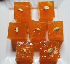 Holi Recipes 2015 / Holi Sweets Recipes / Recipes for Holi - Yummy Tummy Indian Dessert Recipes, Indian Sweets, Sweets Recipes, Holi Recipes, Diwali Recipes, Indian Recipes, Cake Recipes, Sheera Recipe, Sweet Like Candy