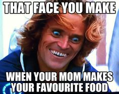 You know that face...