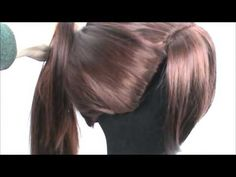 ▶ Tutorial: Preparing Wigs for Ponytails and Up-dos - YouTube