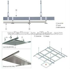 Steel Ceiling Joists Studs And Runners High Quality Grid Metal Ceilings