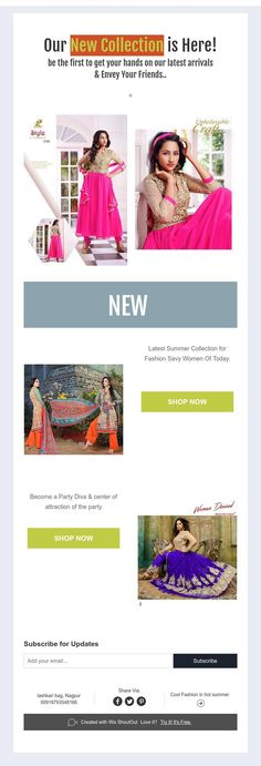 Our New Collection is Here!  be the first to get your hands on our latest arrivals  & Envey Your Friends..