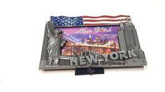 photo frame 4x6 nyc Brooklyn Bridge Statue of Liberty Towers Good Gift