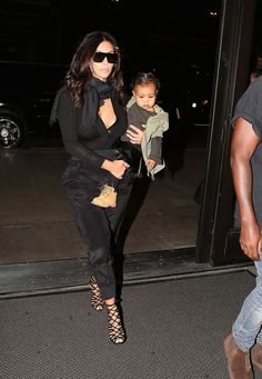 Kim & North at LAX airport - August 29, 2014