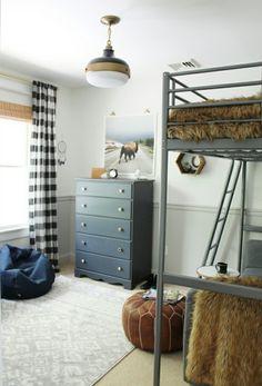 Hux or Cross's Room! Buffalo rustic