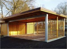 The very first step in building a carport is rather simple. Similarly, just like the larger portion of the carport designs, the quad carport come in a lot of styles and arrangements. Decide on where would you prefer to construct… Continue Reading → Carport Sheds, Carport Plans, Carport Garage, Pergola Carport, Carport Canopy, Patio Gazebo, Pergola Shade, Detached Garage, Pergola Plans