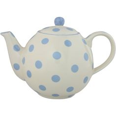 London Pottery Spot Teapot, Powder Blue ($25) ❤ liked on Polyvore featuring home, kitchen & dining, teapots, london pottery teapot and london pottery