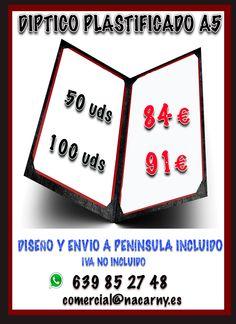 Diseño e impresión de tu publicidad !!!!!!! comercial@nacarny.es