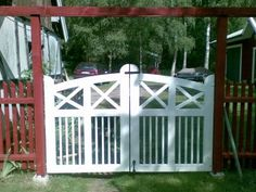 dubbelgrind - Sök på Google Outdoor Projects, Outdoor Structures, Plank, Gates, Google, Planks, Gate