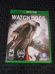 Watch Dogs  (Microsoft Xbox One, 2014) xb1 w/ Case AA3