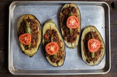 Karniyarik (Turkish Stuffed Eggplant) | The Domestic Man