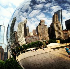 Chicago. Love the bean and my home.